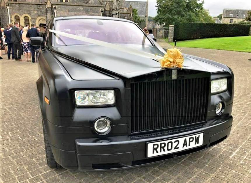 Modern Rolls Royce Rolls Royce Phantom For Weddings In